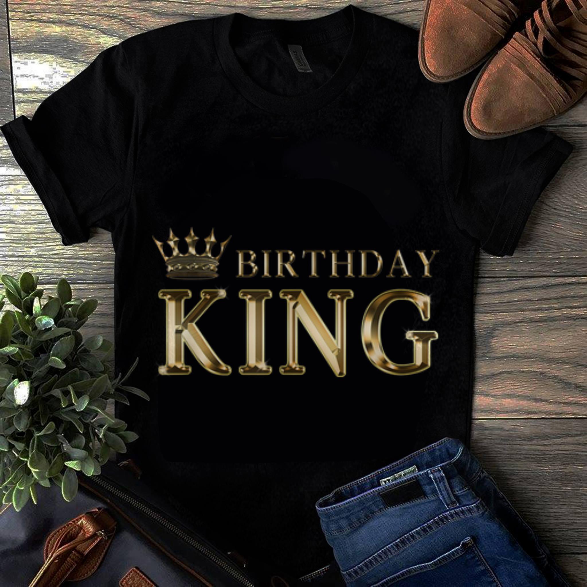 Hot Birthday King Gold Crown Shirt 1 1.jpg