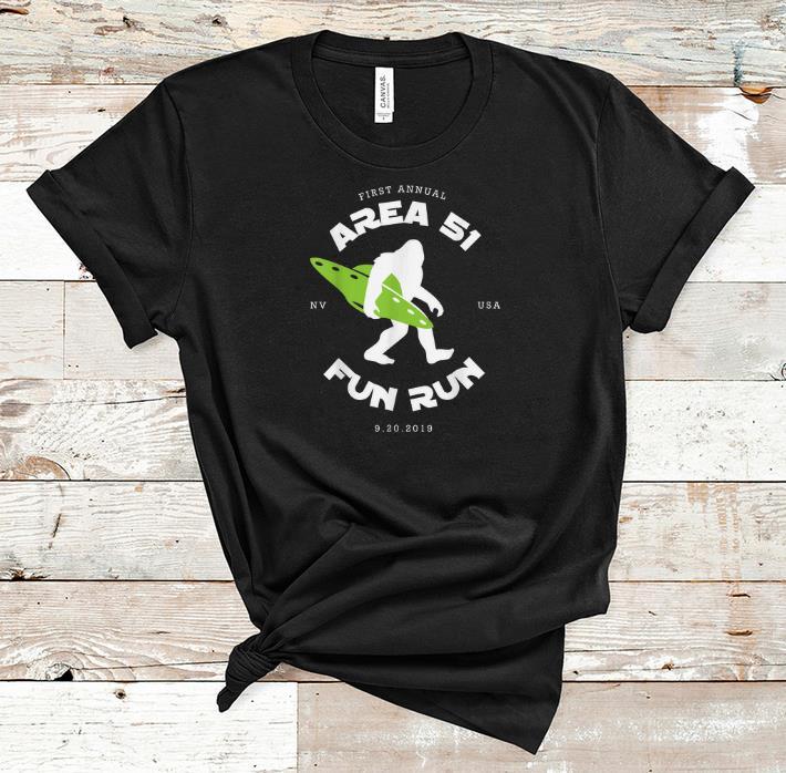 Hot First Annual Area 51 Fun Run Bigfoot Ufo Shirt 1 1.jpg