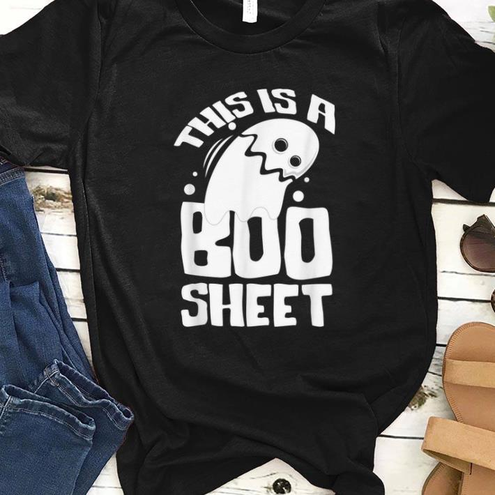 Hot Halloween Ghost This Is A Boo Sheet Gift Shirt 1 1.jpg