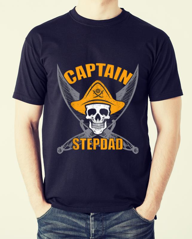 Hot Pirate Captain Stepdad Funny Halloween Party Costume Gift Shirt 2 1.jpg