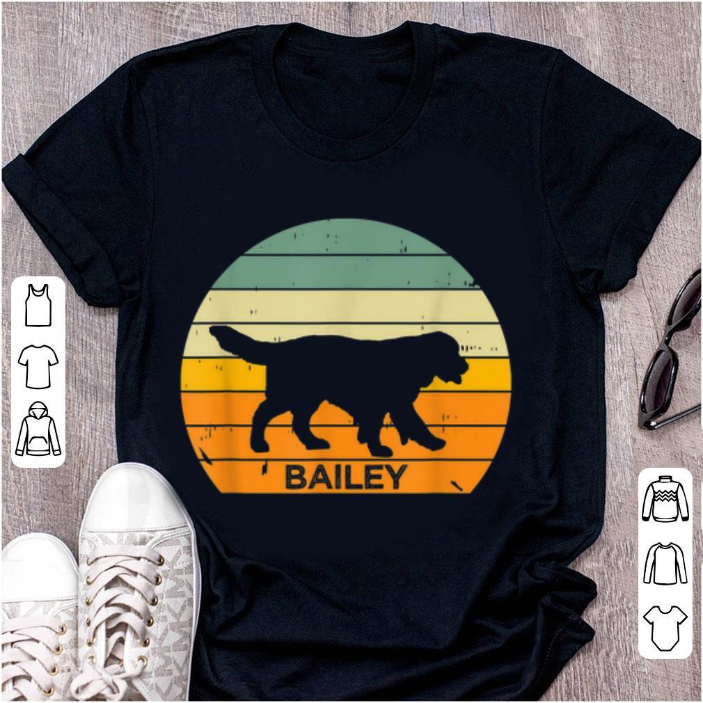 Hot Vintage Sunset Golden Retriever Personalized Bailey Shirt 1 1.jpg