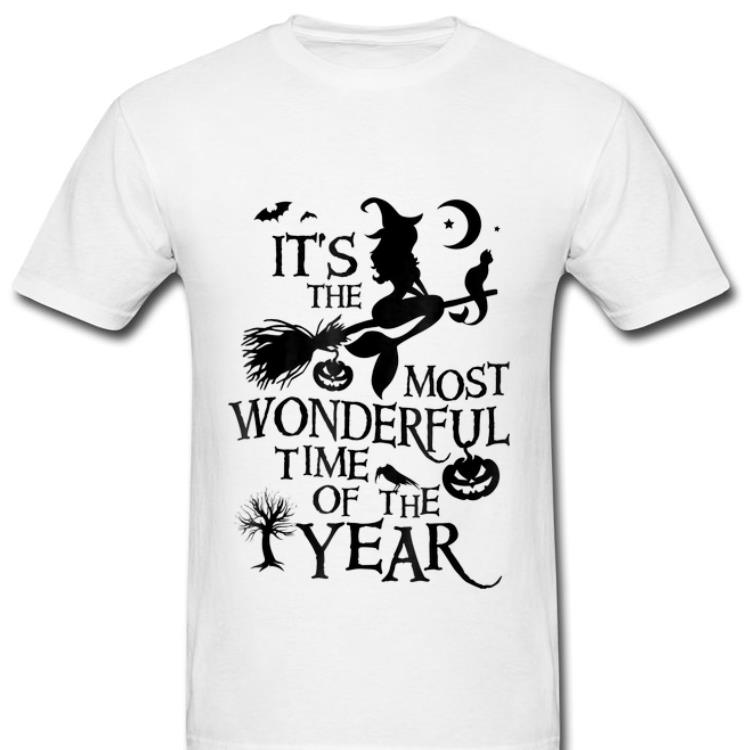 Hot Witch It S The Most Wonderful Time Of The Year Halloween Shirt 2 1.jpg