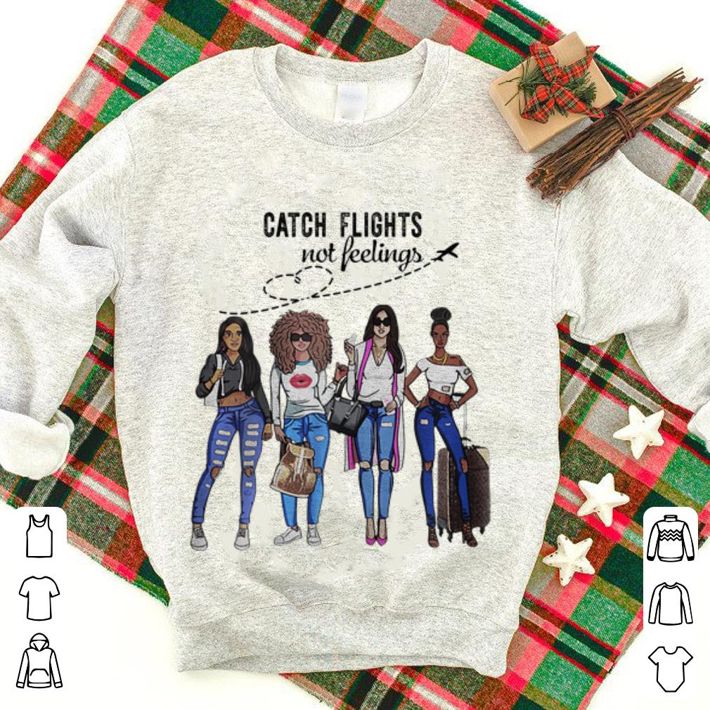 Nice Catch Flights Not Feelings Summer Shirt 1 1.jpg