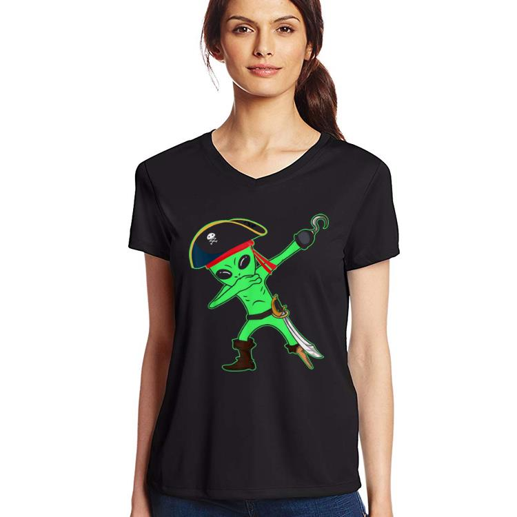 Nice Dabbing Alien Pirate Halloween Funny Dab Kids Boys Shirt 3 1.jpg