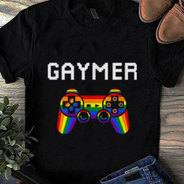 Nice Gaymer Pride Month LGBT Gamer Lover shirt