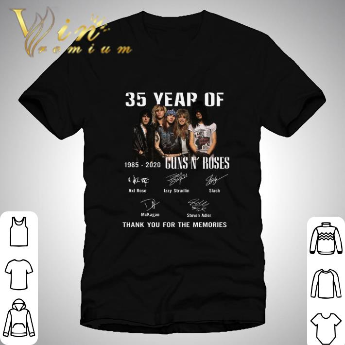 Official 35 Year Of Gun N Roses 1985 2020 Thank You For The Memories Shirt 1 1 1.jpg