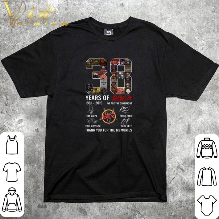 Official 38 Years Of Slayer 1981 2019 We Are The Champions Signatures Shirt 1 1.jpg