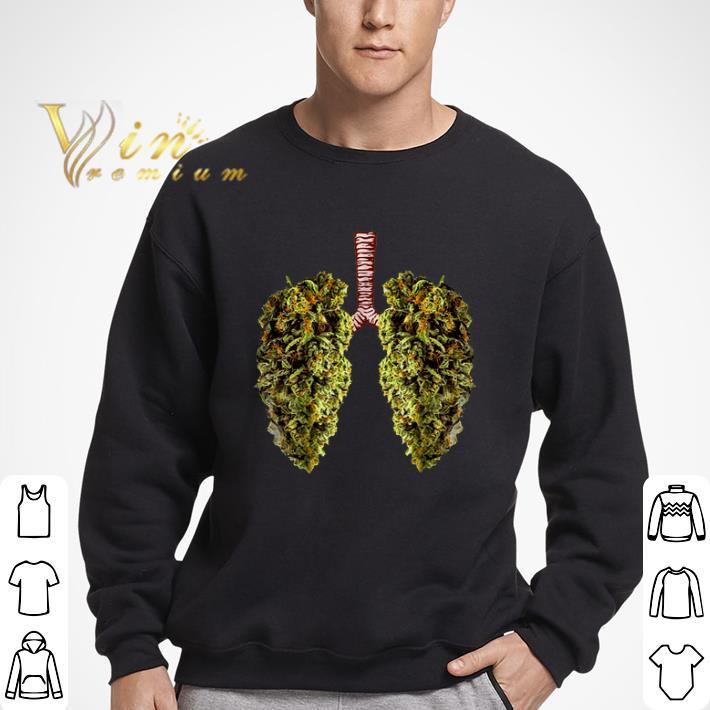 Official Cannabis Lungs Marijuana Buds shirt