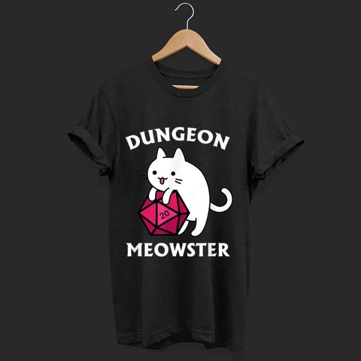 Official Dungeon Meowster Dnd Gamer Cat D20 Shirt 1 1.jpg
