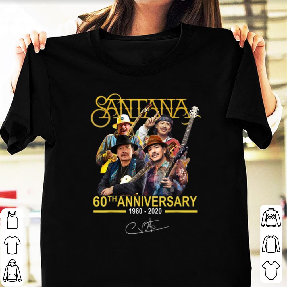 Official Santana 60th Anniversary 1960 2020 Signature Shirt 1 1.jpg