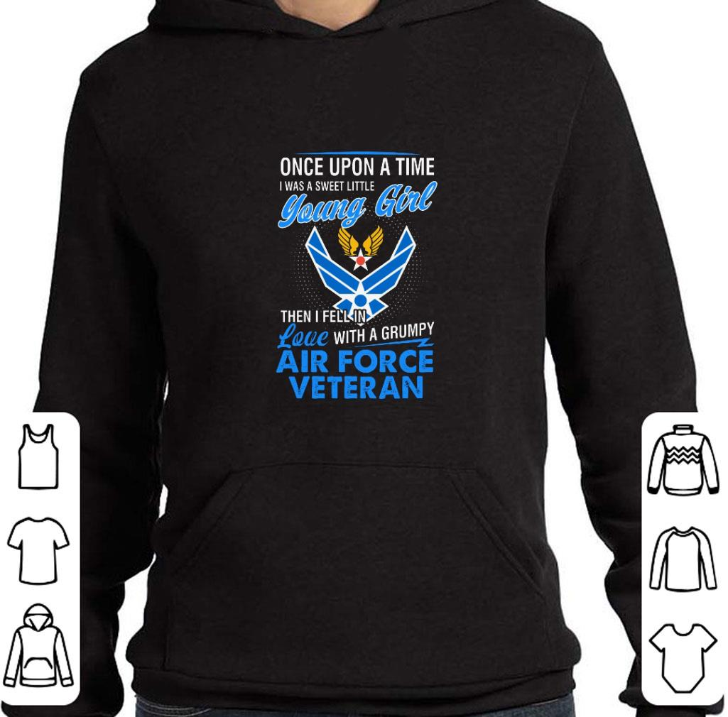 Official US Army Air Corps Once upon a time i was a sweet little young shirt