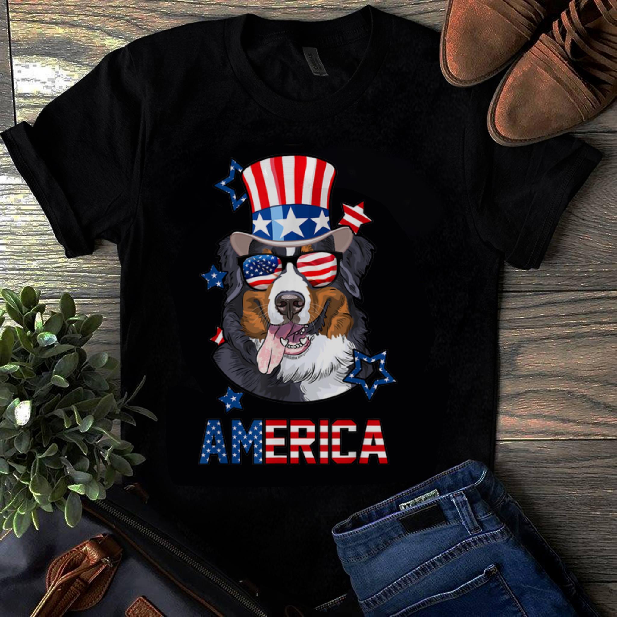 Original America Bernese Mountain Dog 4th Of July Shirt 1 1.jpg