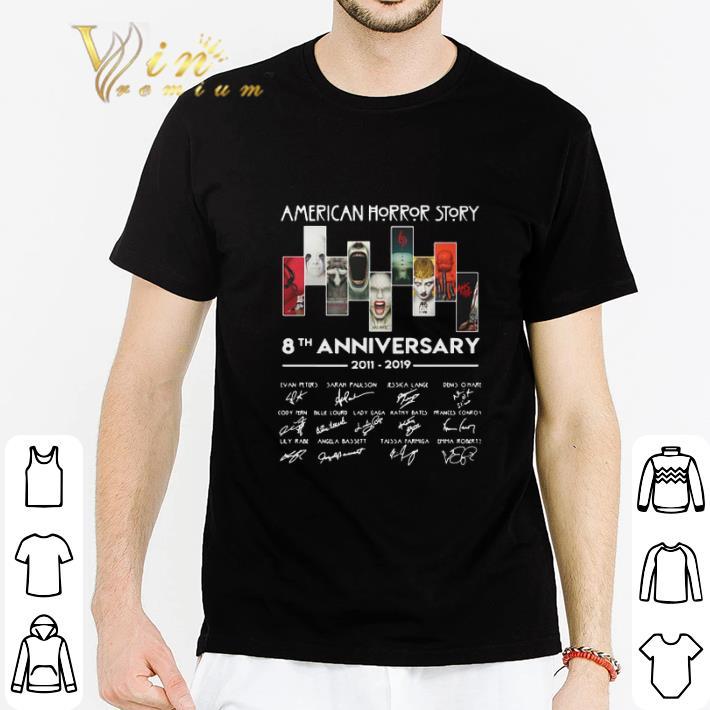 Original American Horror Story 8th Anniversary 2011 2019 Signatures Shirt 3 1.jpg