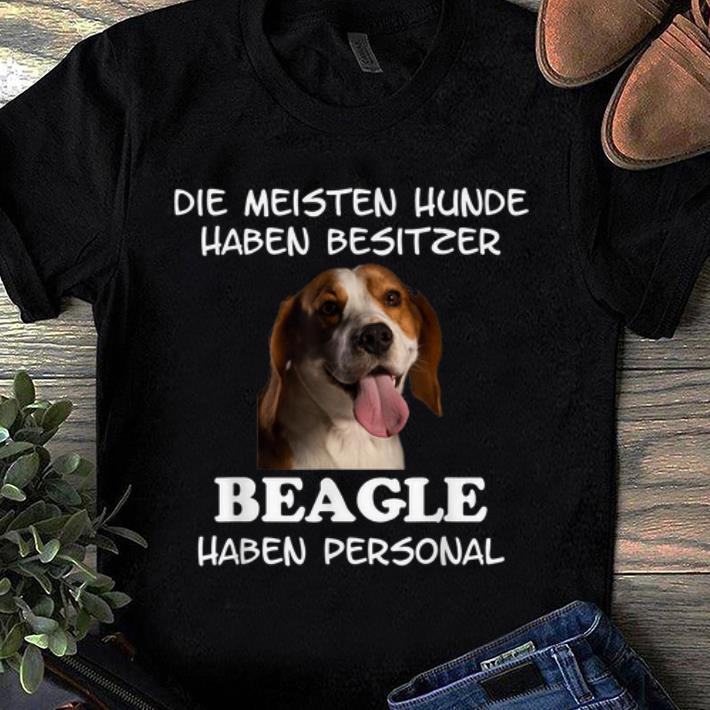 Premium Beagle Hund Geschenk Damen Herren shirt