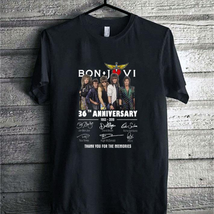 Premium Bon Jovi 36th Anniversary 1963 2019 Thank You For The Memories Shirt 2 1.jpg