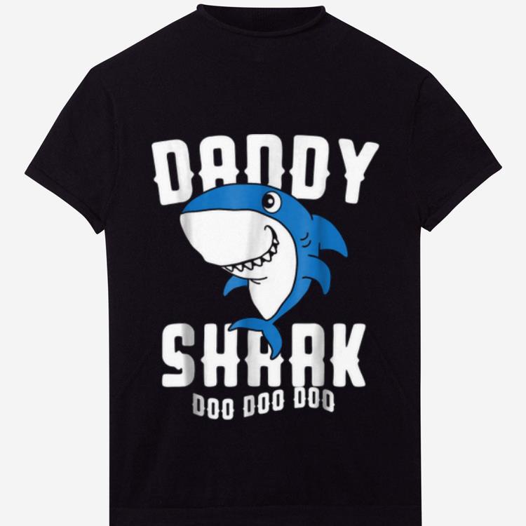 Premium Daddy Shark Father Grandpa Halloween Christmas Shirt 1 1.jpg