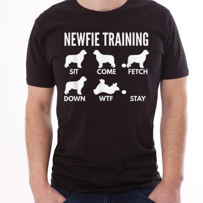 Premium Newfie Training Newfoundland Dog Tricks shirt