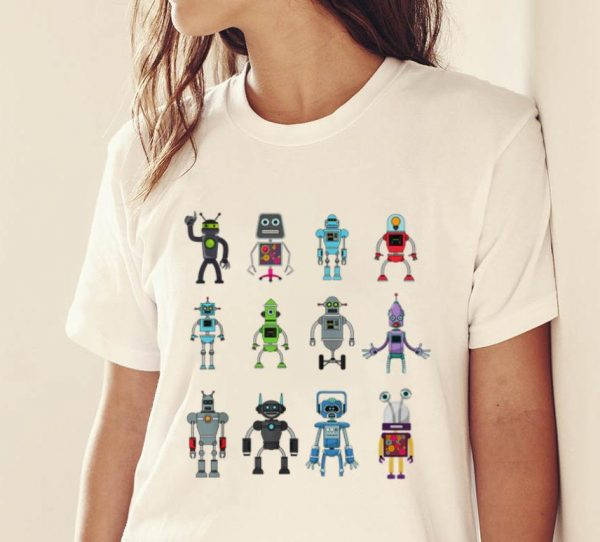 Premium Robot Emoji Ai Geek Science Robotics Vintage Shirt 2 1.jpg