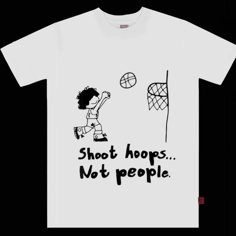 Premium Shoot Hoops Not People Basketball Lover shirt