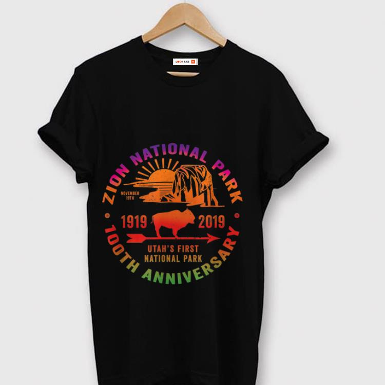 Premium Zion National Park 100 Year Anniversary Shirt 1 1.jpg