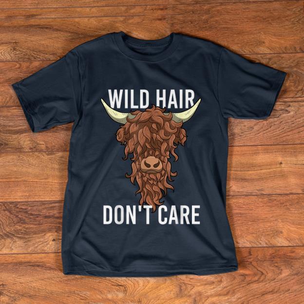 Pretty Highland Cow Wild Hair Don T Care Shirt 1 1.jpg