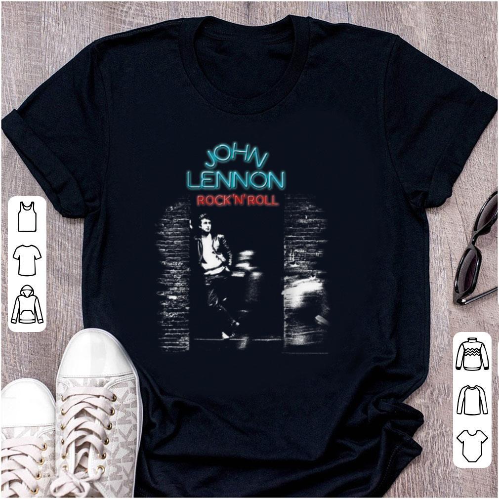Pretty John Lennon Rock N Roll shirt