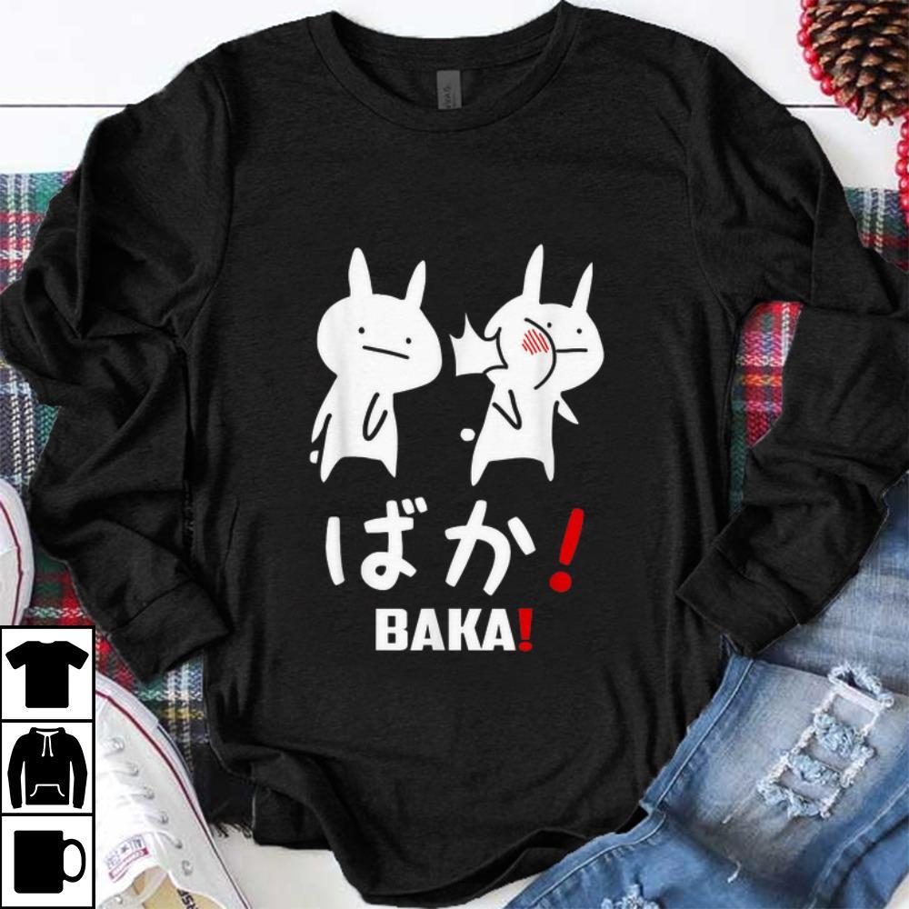Pretty Kawaii Neko Baka Japanese Word Shirt 1 1.jpg