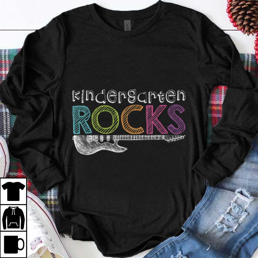 Pretty Kindergarten Rocks With Guitar Electric Shirt 1 1.jpg