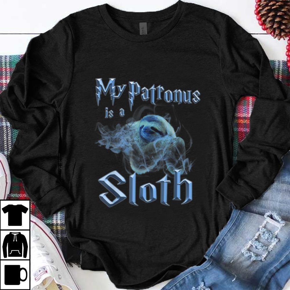 Pretty My Patronus Is A Sloth Wizard Magic Shirt 1 1.jpg