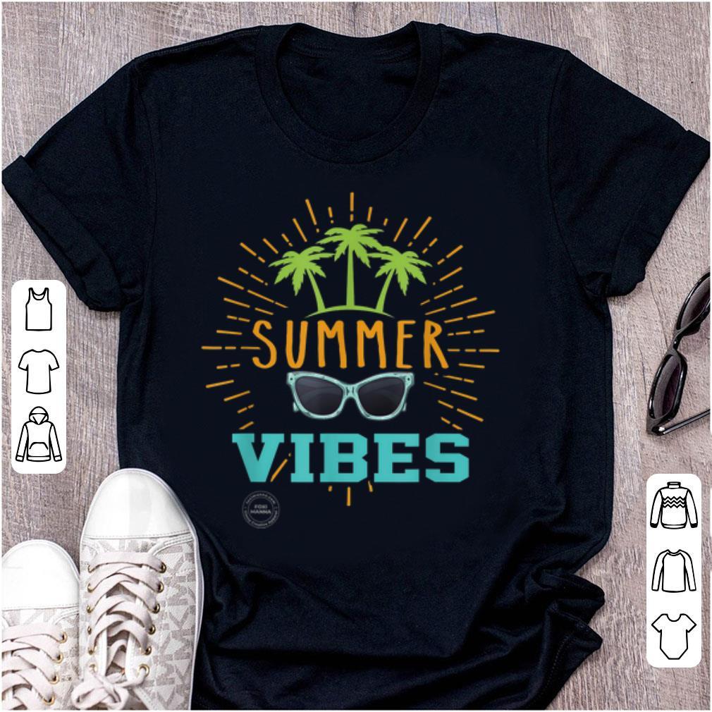 Pretty Summer Vibes Palm Trees And Sunglasses Shirt 1 1.jpg