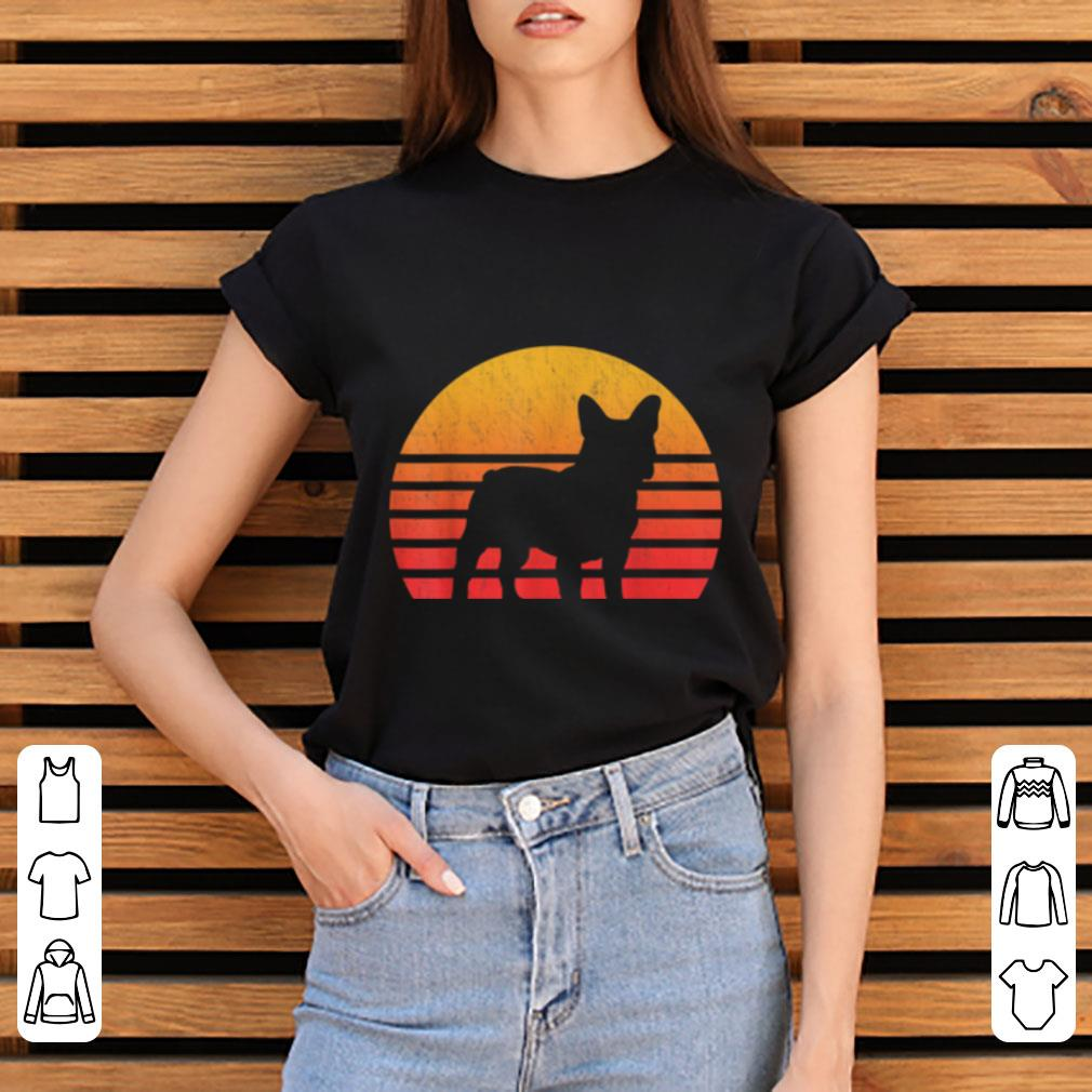 Pretty Vintage Retro Sunset French Bulldog Silhouette Shirt 3 1.jpg