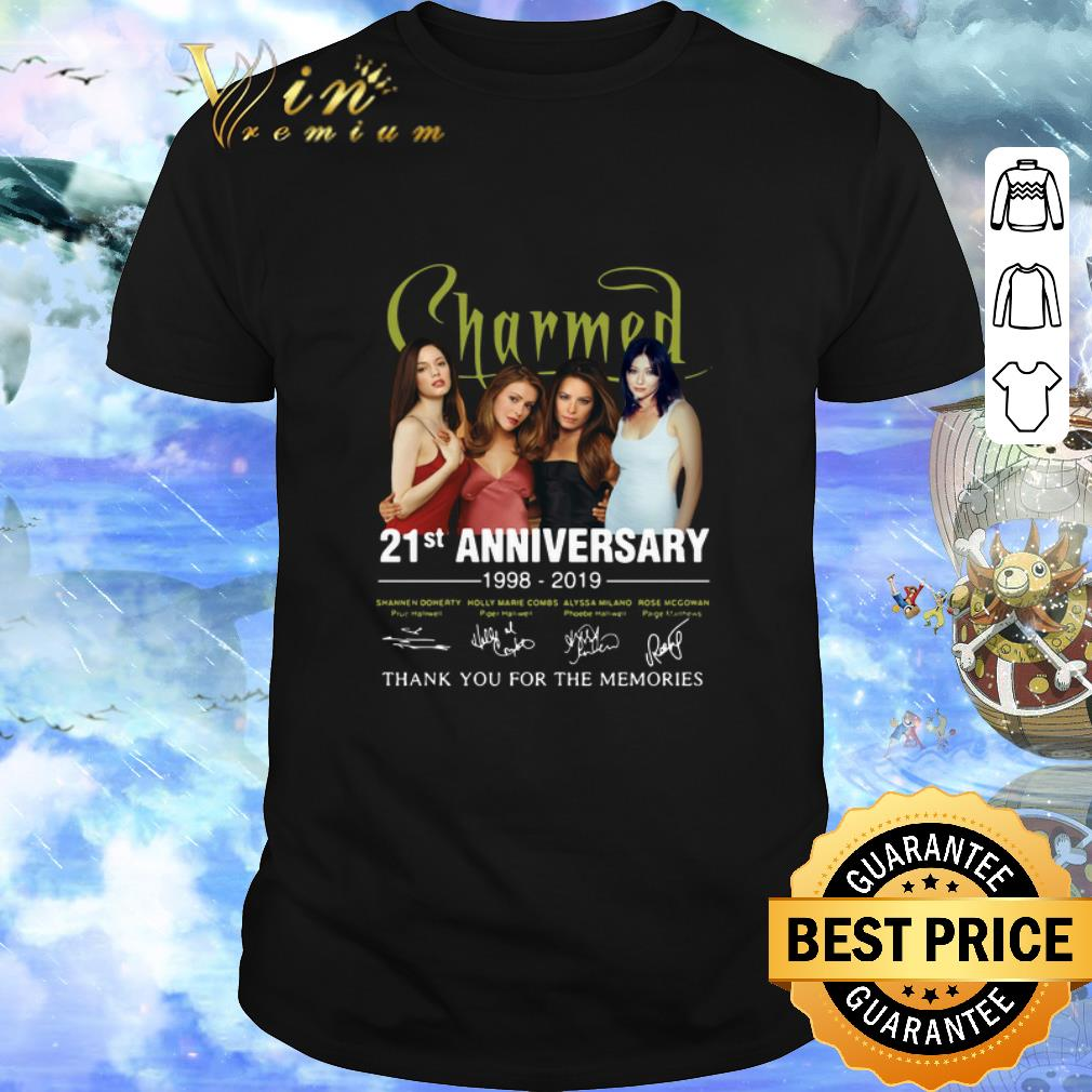 Top 21st Anniversary Charmed 1998 2019 Thank You For The Memories Shirt 1 1.jpg