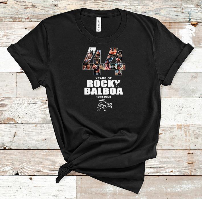 Top 44 Years Of Rocky Balboa 1976 2020 Signature Shirt 1 1.jpg