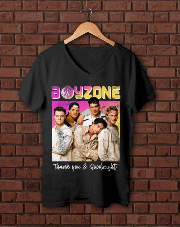 Top Boyzone Thank You Goodnight 2019 Tour Merchandise Shirt 1 1.jpg
