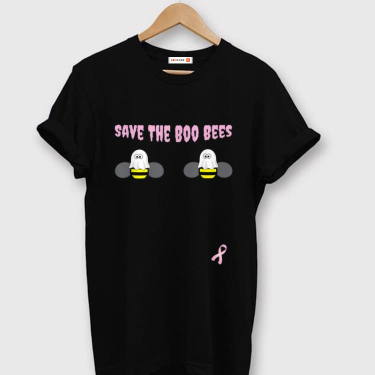 Top Breast Cancer Awareness Halloween Save The Boo Bees Shirt 1 1.jpg