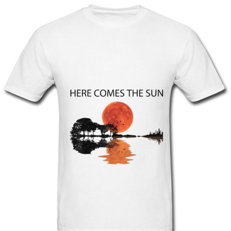 Top Here Comes The Sun Guitar Lake Shirt 1 1.jpg