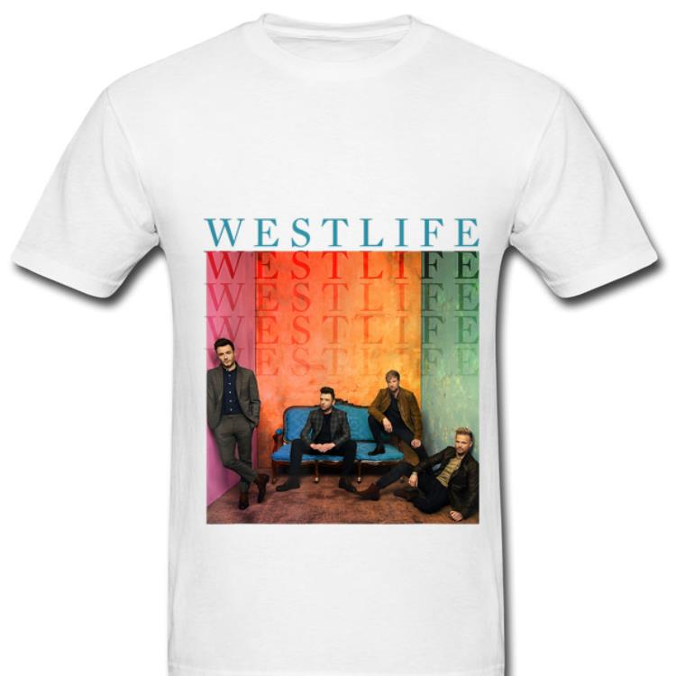 Top Westlife Better Man shirt