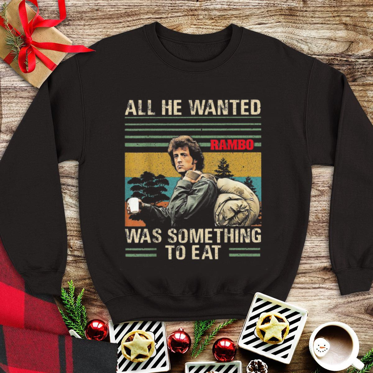All He Wanted Was Something To Eat Rambo Vintage Shirt 1 1.jpg