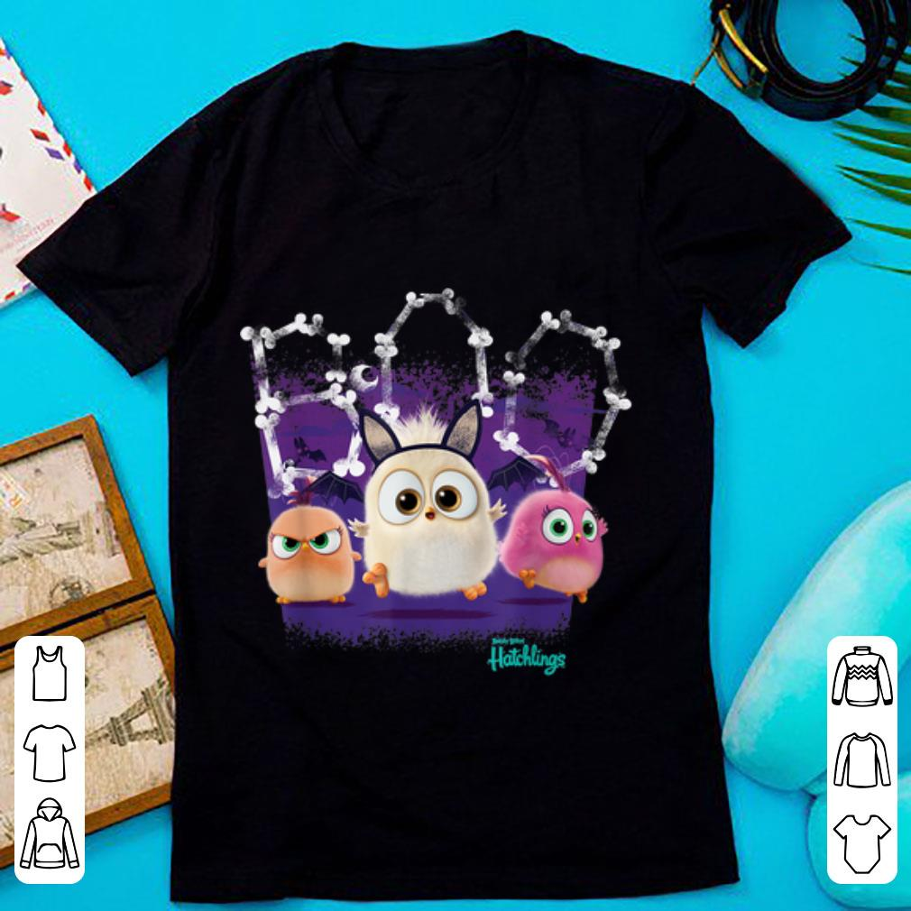 Awesome Angry Birds - Hatchlings Halloween Boo shirt