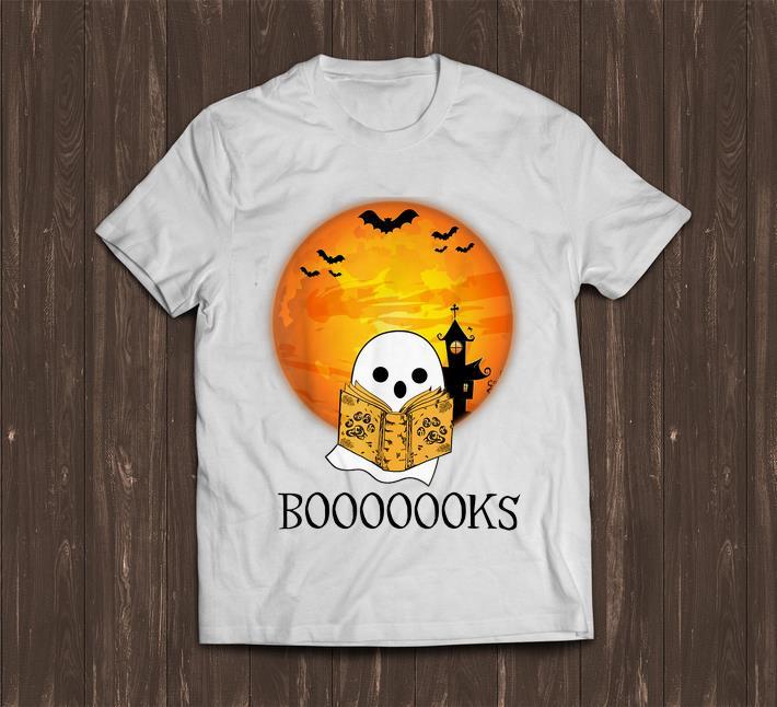 Awesome Booooooks Boo Read Books Halloween Shirt 1 1.jpg