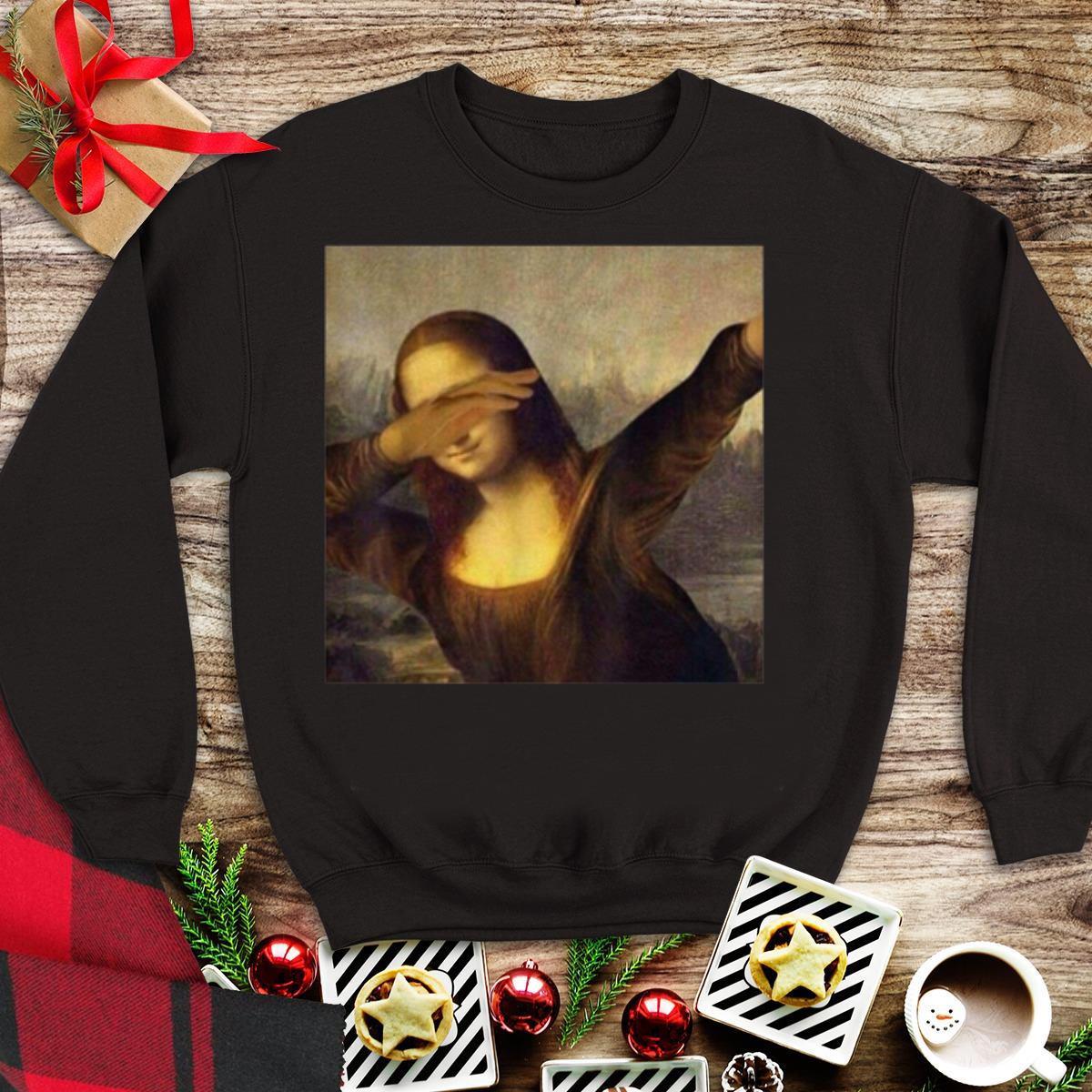 Awesome Dabbing Mona Lisa La Gioconda Chrissy Insta shirt