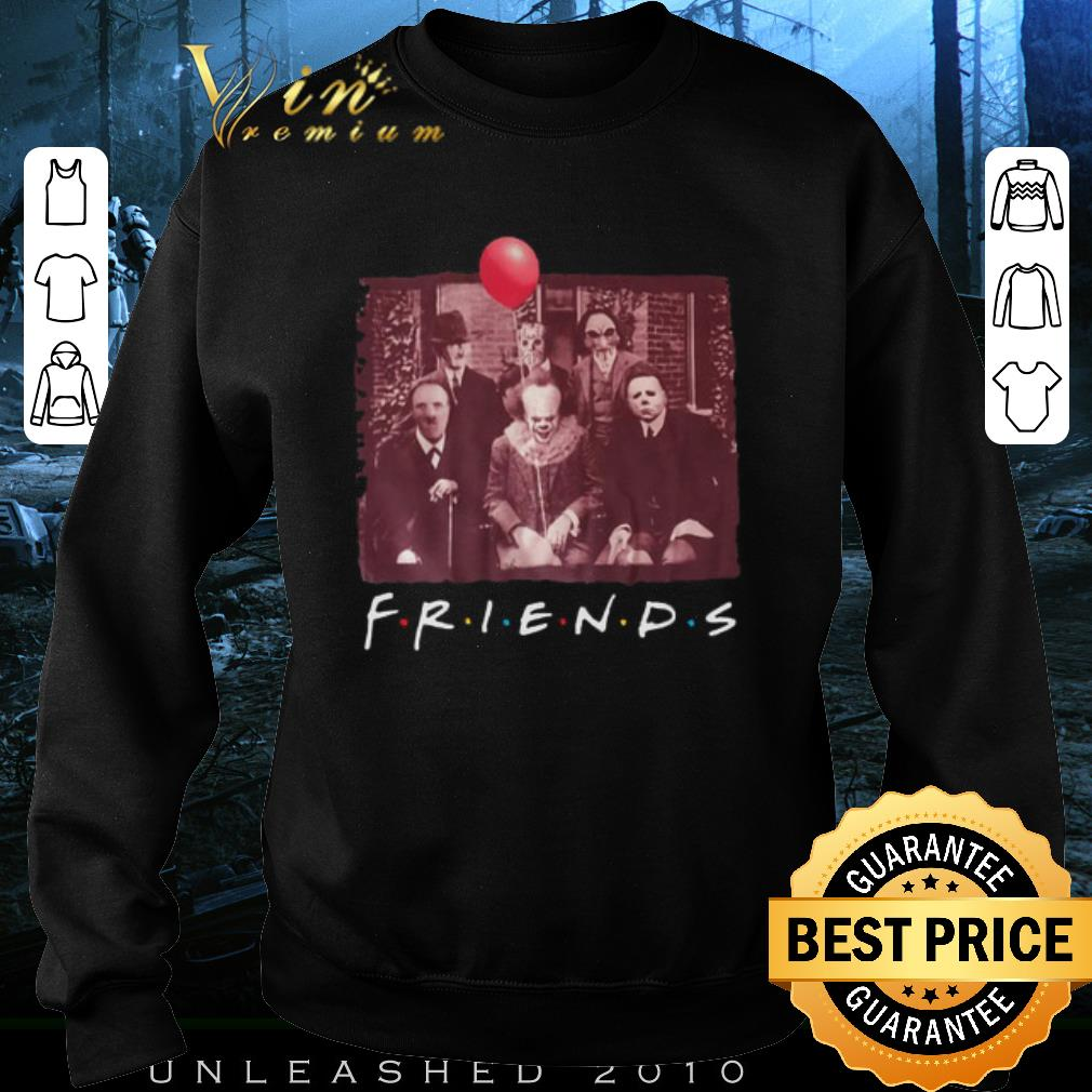 Awesome Freddy Krueger Friends TV Show Horror film characters halloween shirt