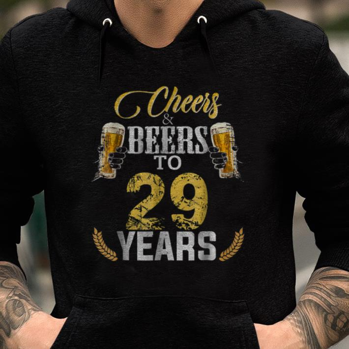Cheers And Beers To 29 Years Shirts 2 1.jpg