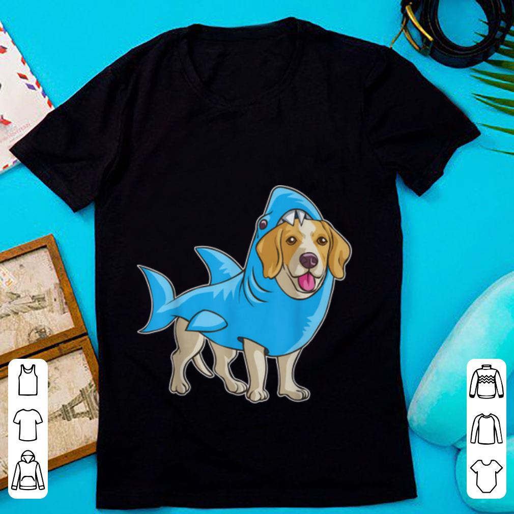 Hot Beagle Shark Funny Dog Suit Puppy Great White Gift Shirt 1 1.jpg
