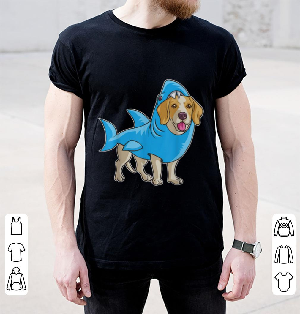 Hot Beagle Shark Funny Dog Suit Puppy Great White Gift Shirt 2 1.jpg