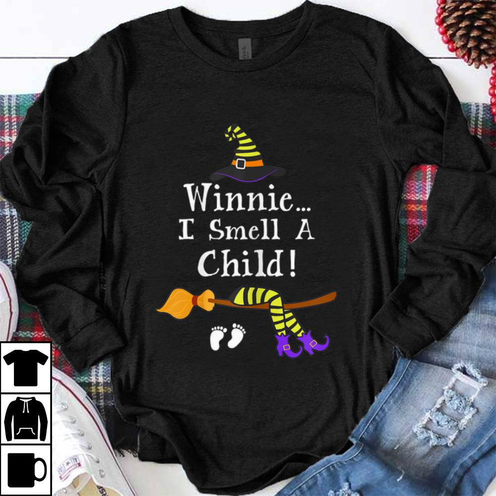 Hot Halloween Witch I Smell A Child Pregnancy Halloween Costumes Shirt 1 1.jpg