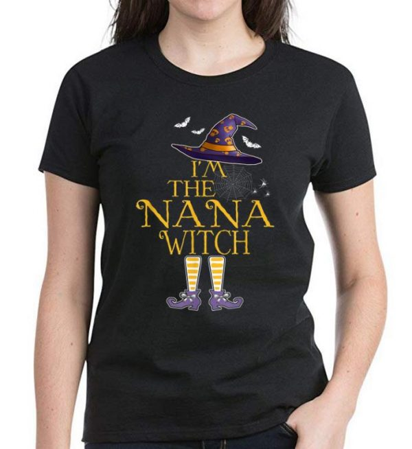 Hot I M The Nana Witch Group Matching Halloween Costume Shirt 3 1.jpg
