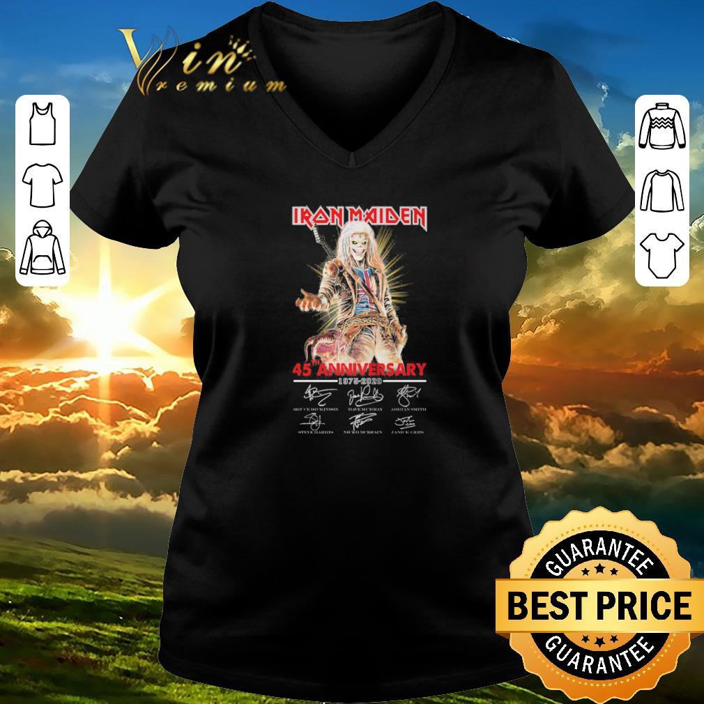 Hot Iron Maiden 45th Anniversary 1975 2020 Signatures Shirt Sweater 2 1.jpg
