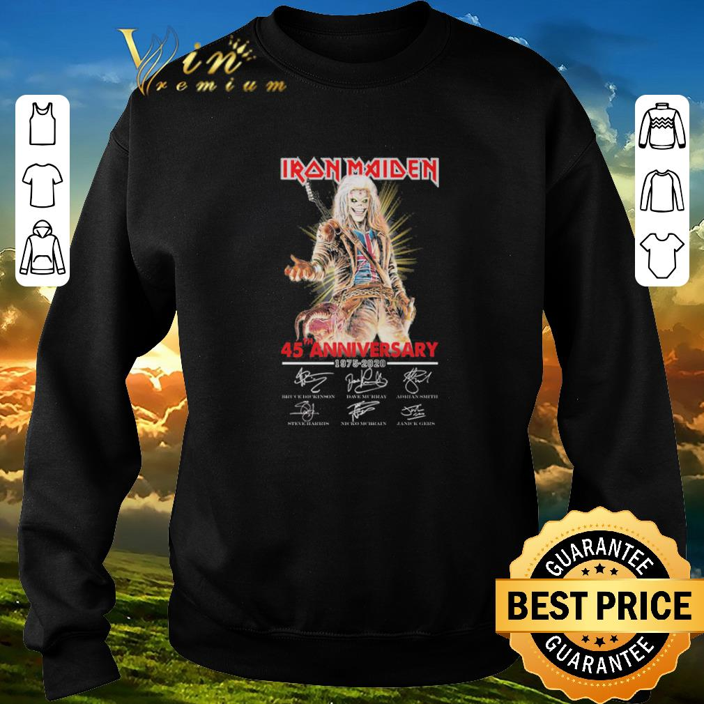 Hot Iron Maiden 45th Anniversary 1975 2020 Signatures Shirt Sweater 3 1.jpg