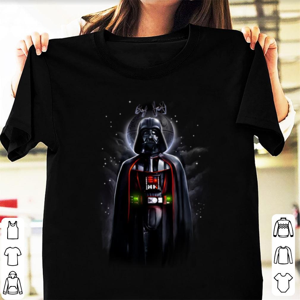 Hot Star Wars Darth Vader With Death Star Portrait Shirt 1 1.jpg